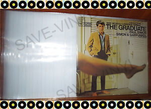 500-Thick-Plastic-POLYPRO-3-Mil-Vnyl-Record-Album-LP-Outer-Sleeves-Covers