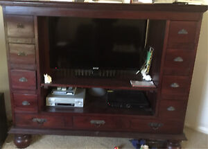 Large cabinet display storage tv unit Greenwood Joondalup Area Preview