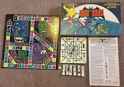 Rare 1989 Batman Board Game Glow in the Dark Canadian Version French & English](Glow In The Dark Game)