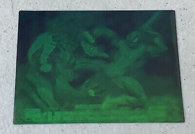 Marvel Universe Series IV SPIDER-MAN Vs VENOM Hologram #H-IV 1993 Skybox
