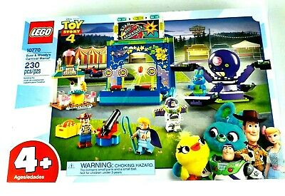 LEGO Disney Pixar 10770 Toy Story 4 Buzz & Woody's Carnival Mania 230pcs Bldg