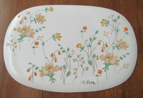 Vintage Vera Neumann Vinyl Placemats Set of 5 Retro Floral 60's 70's