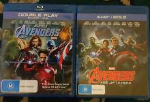 Marvel's Avengers & Marvel's Avengers - Age of Ultron on Blu-Ray Dulwich Hill Marrickville Area Preview