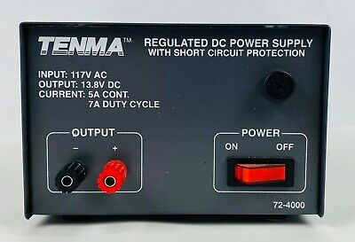Tenma Test Equipment Regulated Dc Power Supply 72-4000