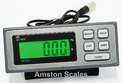 DIGITAL INDICATOR READ OUT LOAD CELL TRUCK FLOOR WEIGH SCALE ANIMAL PEAK VET on Rummage