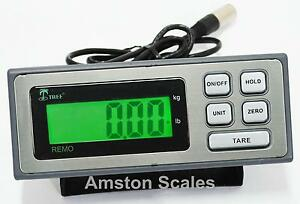 DIGITAL DISPLAY HEAD MONITOR LOAD CELL TRUCK FLOOR WEIGH SCALE ANIMAL PEAK VET