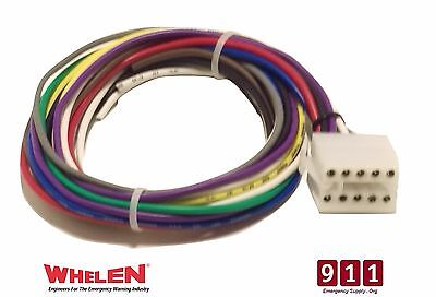 Whelen Ups690 Strobe Power Supply 10 Pin Plug Cable Connector Wire Power 1 Foot