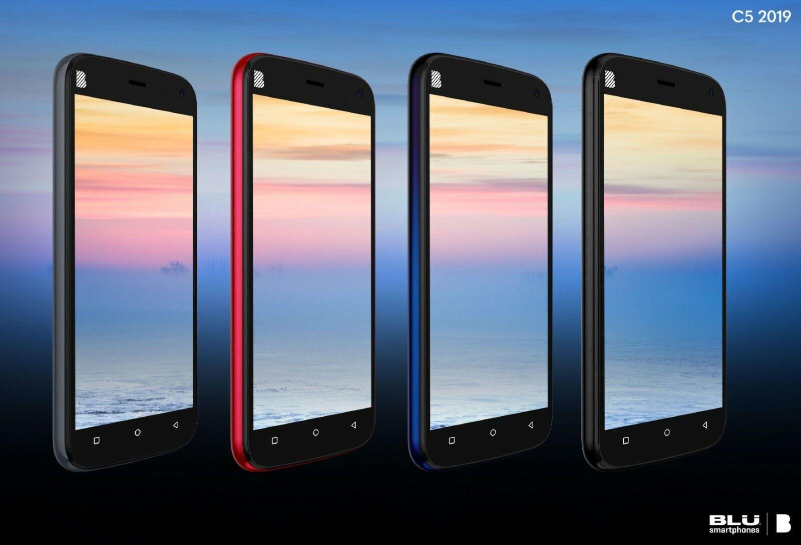 BLU C5 2019 5'' 4G Factory Unlocked Smart Phone Android 16GB