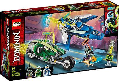 71709 LEGO NINJAGO Jay and Lloyd's Velocity Racers 322 Pieces Age 7 Years+