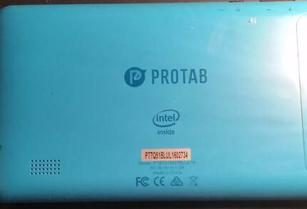 Intel Protab Blue
