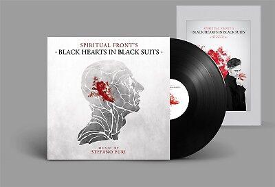 SPIRITUAL FRONT Black Hearts in Black Suits LP VINYL + POSTER 2017 LTD.499