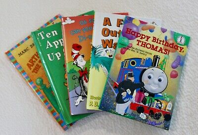 5 Dr Seuss Beginner I Can Read Books Arthur Apples Dinosaurs Fish Thomas