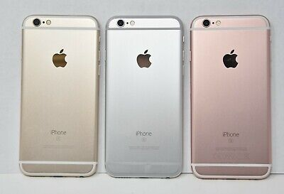 Apple iPhone 6S, 16GB 32GB 64GB - SIM Free/Locked Smartphone Colours Grade