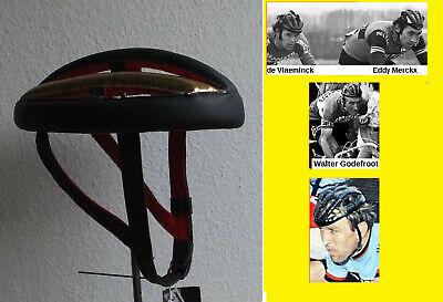 Sturzring leather helmet Sturzkappe Rennrad Vintage Nostalgie 16