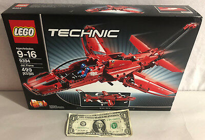 SEALED LEGO TECHNIC Jet Plane 9394 - Brand New RETIRED PRODUCT UNOPENED BOX