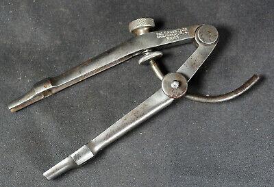 L.s. Starrett No. 85 Extension Leg Wing Divider Dividers