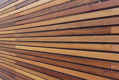 Cedar batons/ slats  used in  Fencing, Venetian Cedar fencing,Cedar batons