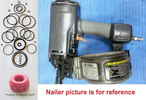 Duo-Fast Coil Nailer RCN 60/225 O ring Kit + Bumper MS-110-5P Part