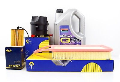 FORD FIESTA 1.4 TDCI SERVICE KIT 02-08 WITH OIL AIR OIL FUEL FILTERS