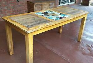 Timber outdoor table Tarneit Wyndham Area Preview