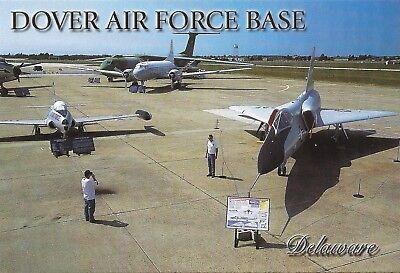 Postcard DE Delaware Dover Air Force Base MINT