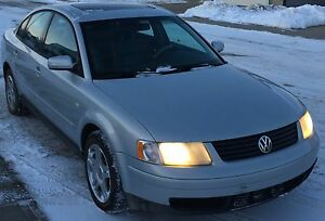 2000 VW Passat V6 with insurance inspection