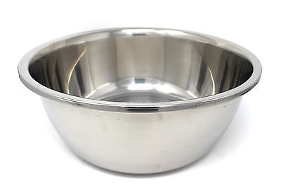Large Stainless Steel Mixing Bowl (CONCORD Large Stainless Steel Mixing Bowls Containers Avail from 4 to 50 Quart )