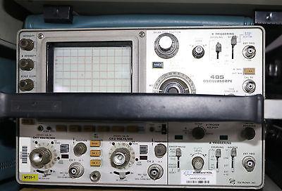 Tektronix 485 Dual Trace 350 Mhz Portable Oscilloscope