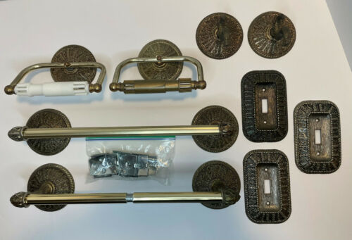 Metal 1968 Vintage American Tack and Hardware Co Bathroom Hardware Accessories