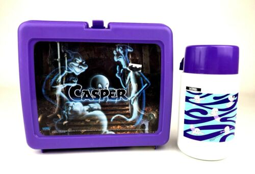 Thermos Universal 1995 Casper Friendly Ghost Purple Lunchbox/Thermos