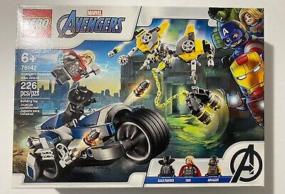 LEGO Marvel Avengers 76142 Avengers Speeder Bike Attack New Sealed