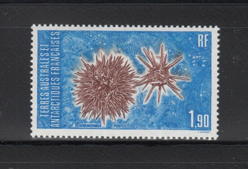 French Antarctic 1986 Marine Life   Sc C120 Complete Mint never Hinged