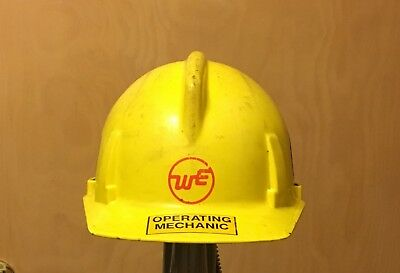 Wisconsin Electric Co. Hard Hat  Msa 3 With Adjustable Head Liner
