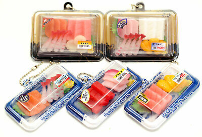 Japanese Cell Phone Straps (J Dream Mini Sushi Sashimi Fish Japanese Squishy Cell Phone Bag Food Charm)