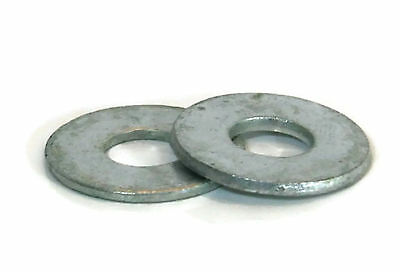 "Flat Washers Hot Dipped Galvanized USS - 1/4""(ID 5/16"", OD 3/4"") - Qty-100"