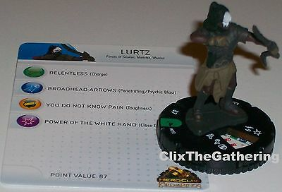 LURTZ #010 Lord of the Rings LOTR HeroClix