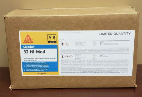 Sikadur®-32 Hi-Mod High Strength Epoxy Bonding/Grouting Adhesive- Free Shipping!