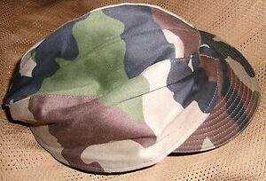 Taglia-56-Cappello-da-campo-mimetico-francese-NUOVO