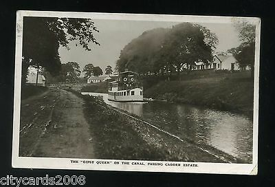 CADDER Scotland  Gipsy Queen on the Forth & Clyde Canal passing Cadder Estate RP