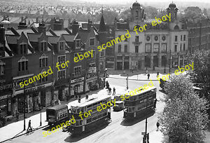 Photo - Elevated view of Old Plaza Cinema, Bromley Road, Catford, Lewisham, 1939