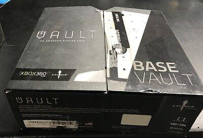 Calibur 11 Slim Vault 3D Armored Gaming Case XBOX 360 - Gundam White for sale  Oakton
