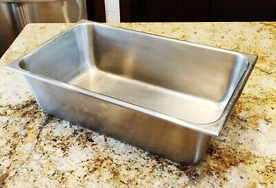 Large Vollrath Usa Stainless Steel Full Size Steam Table Pan 6 Deep 2006-2