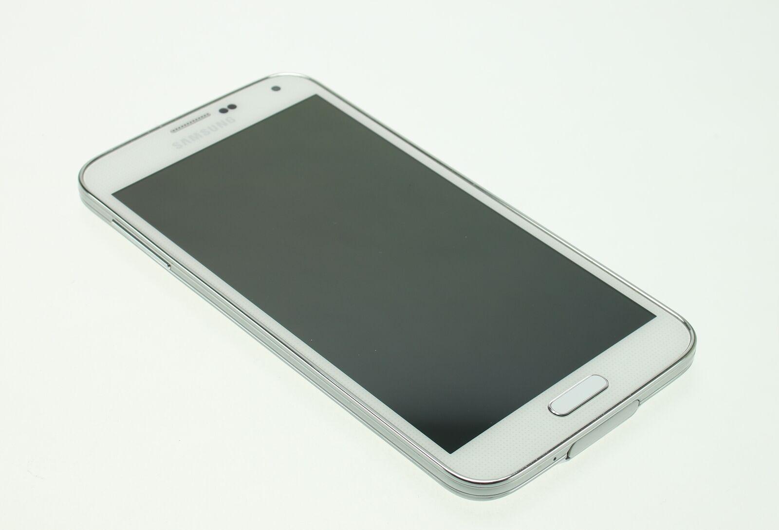 Samsung Galaxy S5 16GB weiß Smartphone Handy - Guter Zustand!