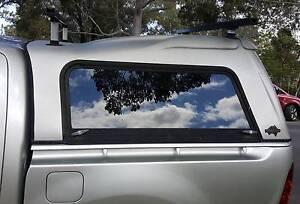 TOYOTA HILUX SR SR5 FLEXIGLASS TRADESMAN CANOY + HD ROOF RACKS Yagoona Bankstown Area Preview