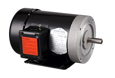 3hp Electric General Purpose Motor 56c 58 3 Phase 230460v 3600rpmtefc