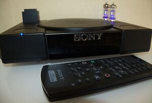 Mit Röhren Modifizierte Playstation 1 SCPH 1002 Tube PSone High End CD Player