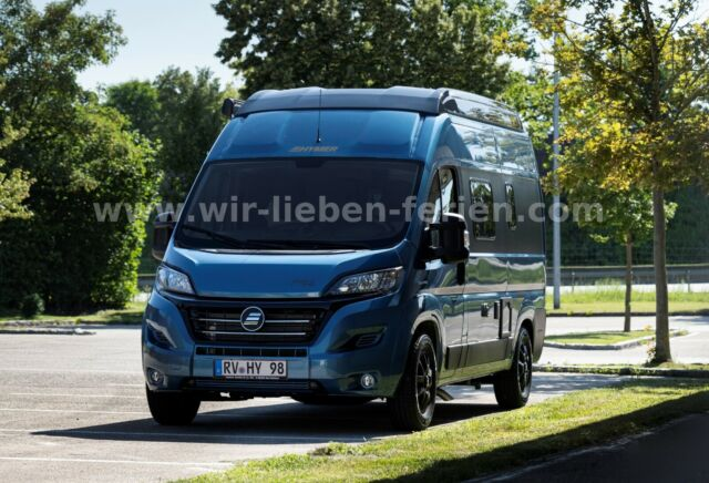 "HYMER-ERIBA Free 540 ""Blue Evolution""160PS Aut. Aufstelldach"