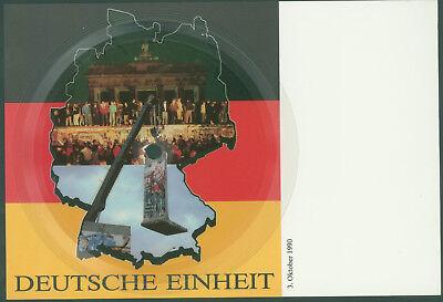 """Soundkarte Nr.7: """"Deutsche Einheit"""" Musikpostkarte + Schallfolie"""