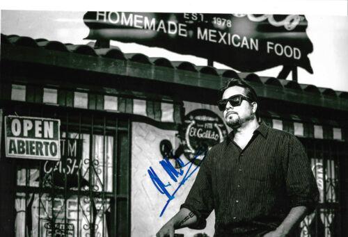 "John Garcia ""Kyuss/Vista Chino"" Autogramm signed 20x30 cm Bild s/w"