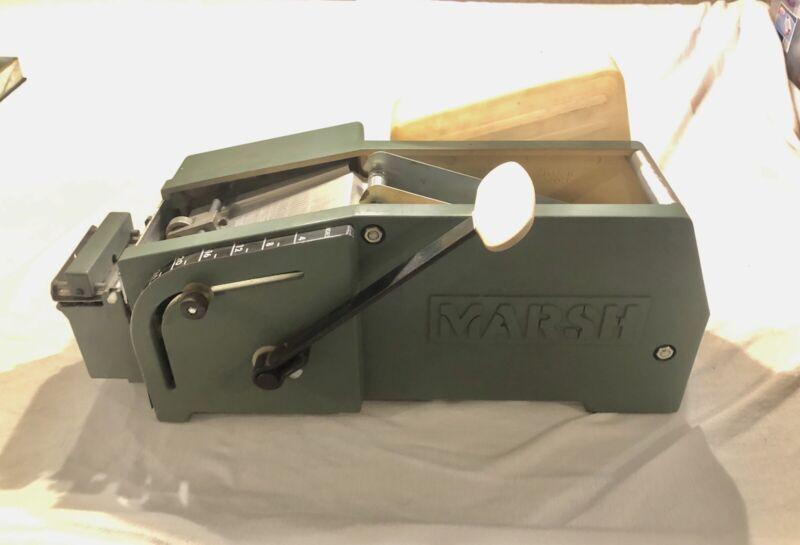 Marsh Model 5 HT Hand Taper Manual Gummed Packaging Tape Dispenser